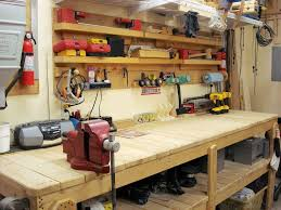 cool garage pictures garage workbench designs ideas for workbenches home designs cool
