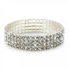 swarovski jewelry bracelet images Carat swarovski crystal stretch bracelet jpg
