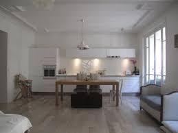 cuisine appartement parisien 17ème appartement haumannien avec cuisine ouverte entrée