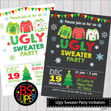 ugly sweater party invites u2013 gangcraft net