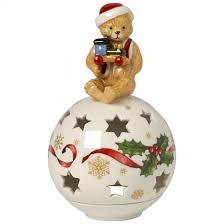 light decolight ornament with teddy villeroy boch
