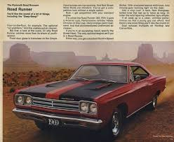 1969 road runner specs colors facts history and performance