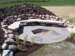 Flagstone Firepit Pit Kits Or Custom Designs Lemke Products