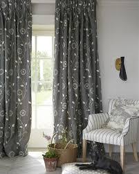 Bird Print Curtain Fabric Made To Measure Curtains With Custom Designer Fabric Vanessa