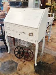antique white desk with hutch models summer home decor in small