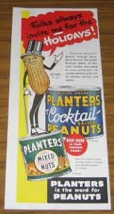 Planters Cocktail Peanuts by Vintage Ad Planters Cocktail Peanuts On Popscreen