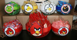 Elmo Party Decorations Walmart Angry Birds Centerpieces Ideas Glass Vases From Walmart With The