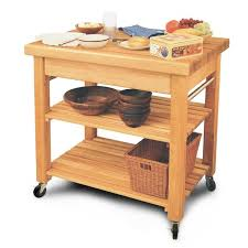catskill craftsmen french country kitchen island with butcher