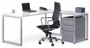 Modern L Shape Desk by Modern Basic L Shaped Desk Bridgecreek Office