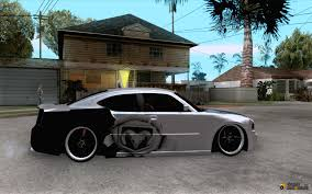 dodge charger srt8 car tuning for gta san andreas