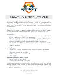 Engineering Internship Resume Sample Cover Letter For Marketing Internship Sample Millwright