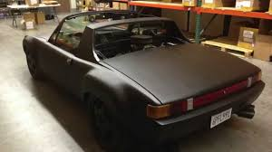 classic porsche 914 1972 porsche 914 v8 for sale youtube