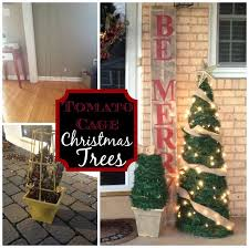 Decorate Christmas Tree Outside by Best 25 Outdoor Christmas Trees Ideas On Pinterest Outdoor