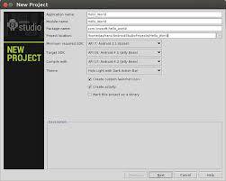 android studio ubuntu installing android studio ide in ubuntu hello world application