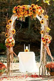 fall wedding fall wedding arches