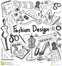 doodle presentations fashion design education handwriting doodle icon tool sign and s