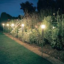 outside lights without electricity outdoor garden lights electric garden inspiration