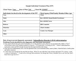 19 substance abuse treatment plan template dsm 5 making the
