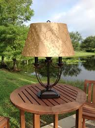 kenroy home belmont outdoor table lamp outdoor lamps for patio