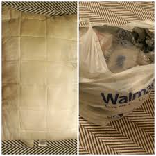 How To Make A Rug From Plastic Grocery Bags How To Make Beautiful Throw Pillows With Plastic Bag Filling