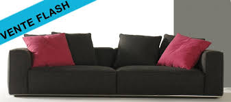 vente flash canapé canapé tissu en vente flash 3 canapés pas chers de 35 à 40