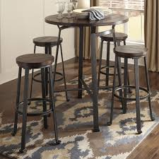 Bistro Set Bar Height Outdoor by Bar Stools Bar Height Table Dimensions 5 Piece Indoor Bistro Set