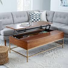 west elm industrial storage coffee table west elm storage coffee table 13