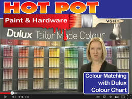 dulux colour matching with colour chart pot paint and hardware