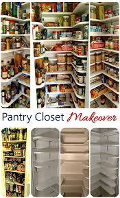 How To Make A Kitchen Pantry Cabinet by Pantry Closet Makeover Tutorial The Gardening Cook
