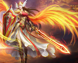 serrin angel warrior rebirth league of angels play free online