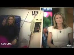 how to cut your hair like amy robach amy robach gets her hair cut in front of cameras youtube