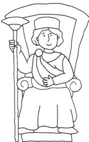 a king standing beside the window coloring pages kiddies world