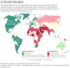 Norway On World Map by Map Shows Where Being Lgbt Can Be Punishable By Law