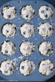 bakery style blueberry streusel muffins video little sweet baker