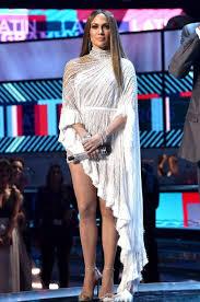 jennifer lopez wearing a labourjoisie dress with stuart weitzman
