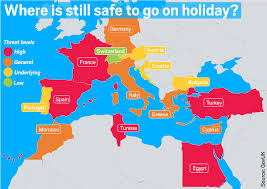 Map Of Germany And Surrounding Countries by So Why Is It Safe To Holiday In The Wake Of The Tunisia Terror