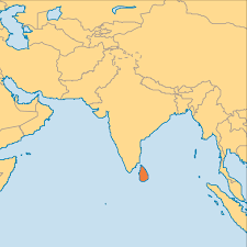 Map Of Sri Lanka Sri Lanka Operation World