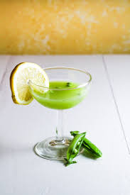 green cocktail ingredient of the week english peas green pea rum cooler