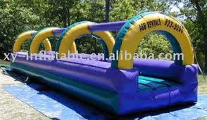 Water Slide Backyard by Backyard Inflatable Flat Water Slide For Funny Water Game