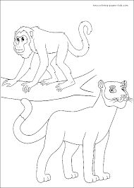 Go Diego Go Color Page Coloring Pages For Kids Cartoon Go Diego Go Coloring Pages