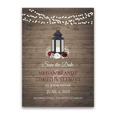 rustic save the date cards rustic save the date cards lantern burgundy blush florals