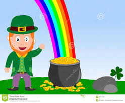 coloring page cool leprechaun and gold pot 8261155 coloring page