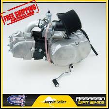 lifan 110cc semi auto engine motor dirt bike assassin dhz
