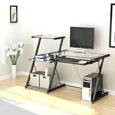 Small Glass Computer Desk Small Glass Computer Desk Medium Size Of Bedroom Desk Glass Top
