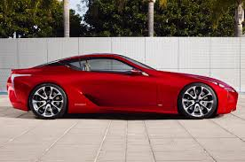 lexus lfa concept lexus lf lc super coupe concept as production model still indecisive