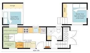 mitch craft tiny house floor plan tiny house pinterest