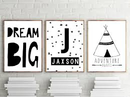 nursery or bedroom prints kids wall art decor personalised name nursery or bedroom prints kids wall art decor personalised name print tribal