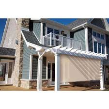 Roll Up Patio Blinds by Outdoor Shades Shades The Home Depot