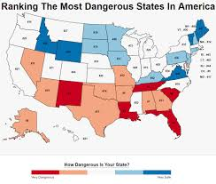 Puerto Rico Crime Map by These Are The 10 Most Dangerous States In America Roadsnacks