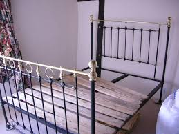 bed antique wrought iron bed frame queen log bed frame modern